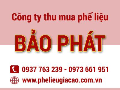 cong ty thu mua phe lieu gia cao